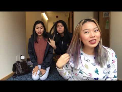 Get Ready With Me at Cornell University ft. Hnin & Dar | cocohong