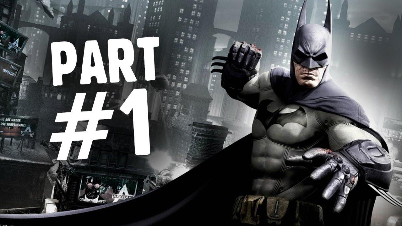 Batman Arkham City Walkthrough Part1! - YouTube