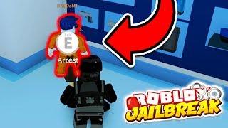 ARRESTING A JAILBREAK NOCLIP HACKER! (Roblox Jailbreak Winter Update)
