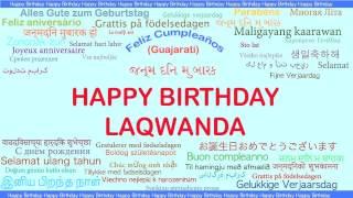 Laqwanda   Languages Idiomas - Happy Birthday
