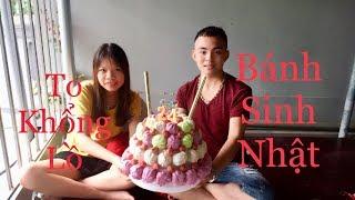 Làm Bánh Kem Sinh Nhật Bằng Bánh Bao Cá Viên - Thần Trưởng TV