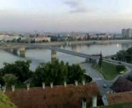 Morning on Petrovaradin fortress!