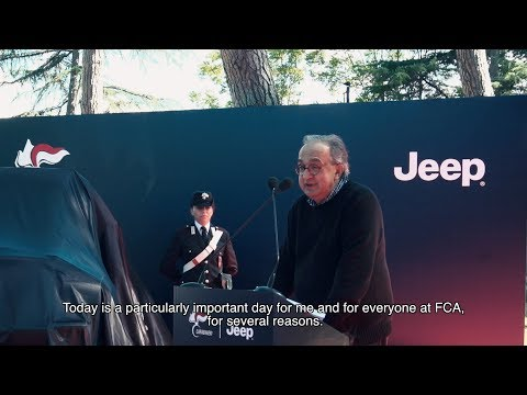 Sergio Marchionne's last public appearance: Jeep Carabinieri Handover Ceremony