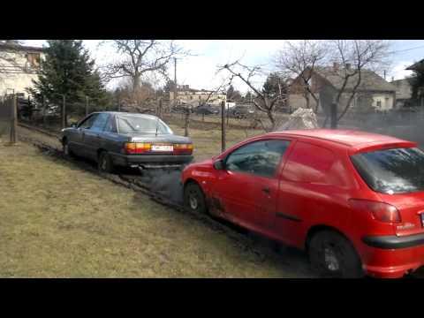 Audi 100 2.0D Quattro mud pulling (euro4:)