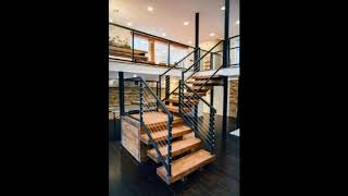 Unique Wood Stairs Ideas For Beautiful Home, Wooden Staircase Designs,Wood Stairs Design Ideas #7