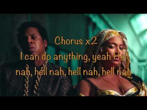 Jay-Z & Beyonce Ft Pharrell - Nice (Lyrics)