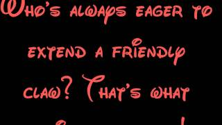 That's What Friends Are For (The Vulture Song) - The Jungle Book Lyrics HD
