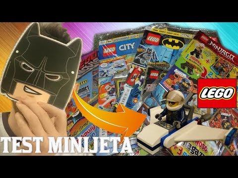 Test Minijeta Lego Poleciał Gazetki Lego Ninjago City Batman