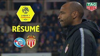 RC Strasbourg Alsace - AS Monaco ( 2-1 ) - Résumé - (RCSA - ASM) / 2018-19