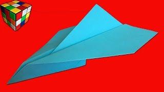 Самолет из бумаги. Как сделать самолет оригами своими руками! Поделки из бумаги.(Учимся рукоделию! Как сделать самолётик из бумаги! Бумажный самолет оригами своими руками! Всё поэтапно..., 2016-04-20T13:00:03.000Z)