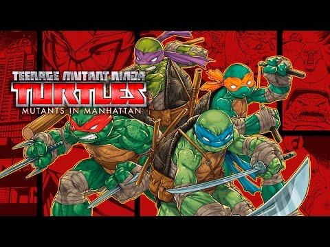 Tortugas Ninja (TMNT): Mutantes en Manhattan - Pelicula Completa Español (Game Movie 2016)