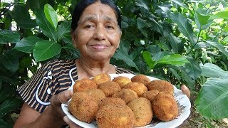 Village Foods ❤ Egg Cutlets prepared in my village by my Mom