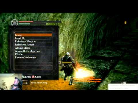 Dark Souls - Drunkthrough Part 13: 3k Follow Hype and the Waterwheel Boss