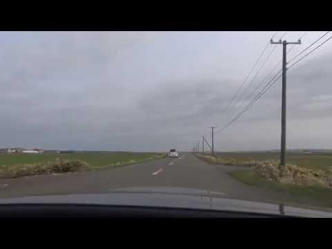 開拓農道町道 浜更岸線 by つるぎパス on YouTube