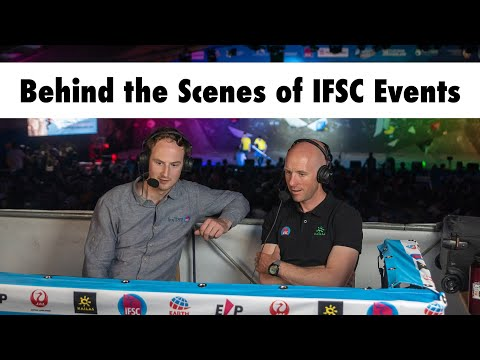 In Isolation - Ep. 4: Behind the Scenes of IFSC Events ft. Charlie Boscoe & Mike Langley