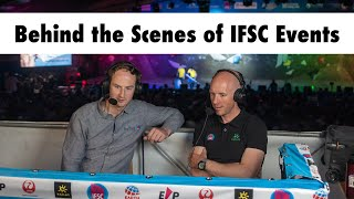 Ep. 4: Behind the Scenes of IFSC Events ft. Charlie Boscoe & Mike Langley