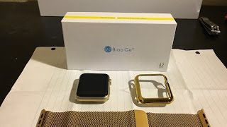 Apple Watch Gold Milanese Loop/Case Unboxing