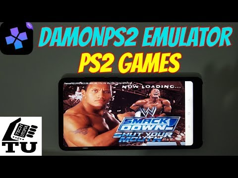 WWE SmackDown! Shut Your Mouth PS2 Game on Android Gameplay DamonPS2 app Games Adreno 540