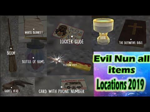 Evil Nun All Item Locations 2019