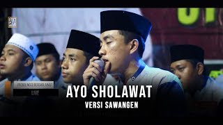 New Ayo Sholawat Versi Sawangen HAFIDZ AHKAM. HD dan LIRIK.mp3