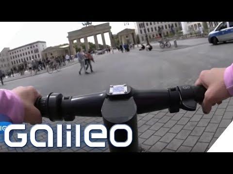 E-Scooter: Sind sie genial oder gefährlich? | Galileo | ProSieben
