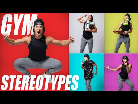 GYM STEREOTYPES | (Which One Are You?)
