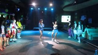 Мисс АГАУ 2013 Спортивное дефиле