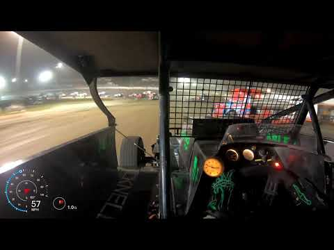 After a few weeks of mechanical gremlins, we seemed to have sorted out the car. The highlights: @1:34 the #1 car defends the top, and I make an adjustment ... - dirt track racing video image