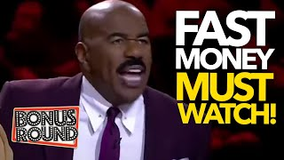 MUST WATCH! Steve Harvey FUNNY Fast Money Moments On Family Feud AFRICA!