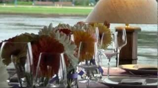 Украшение свадьбы цветами в Le Cristal