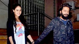 Repeat youtube video Riteish - Genelia's LATE Night Dinner Date VIDEO