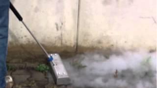Unkrautvernichtung Mit Heißdampf Und Handgerät