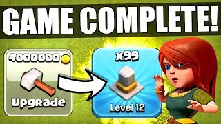 I HAVE OFFICIALLY COMPLETED CLASH OF CLANS! ✅ MAX LEVEL TOWN HALL 11! thumbnail
