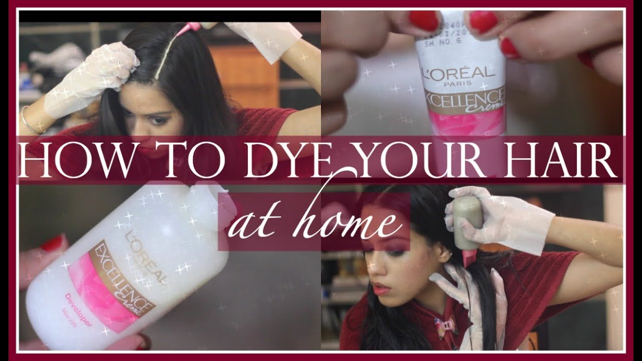 How to dye your hair at home ft loreal excellence creme debasree how to dye your hair at home ft loreal excellence creme debasree banerjee youtube geenschuldenfo Images