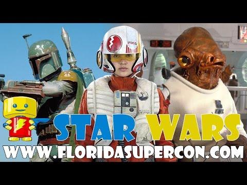 Meet the Stars of Star Wars at Florida Supercon July 1-4, 2016
