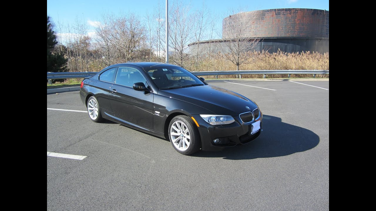 2013 BMW 328XI COUPE WITH M M3 SPORT PACKAGE  328i  First look