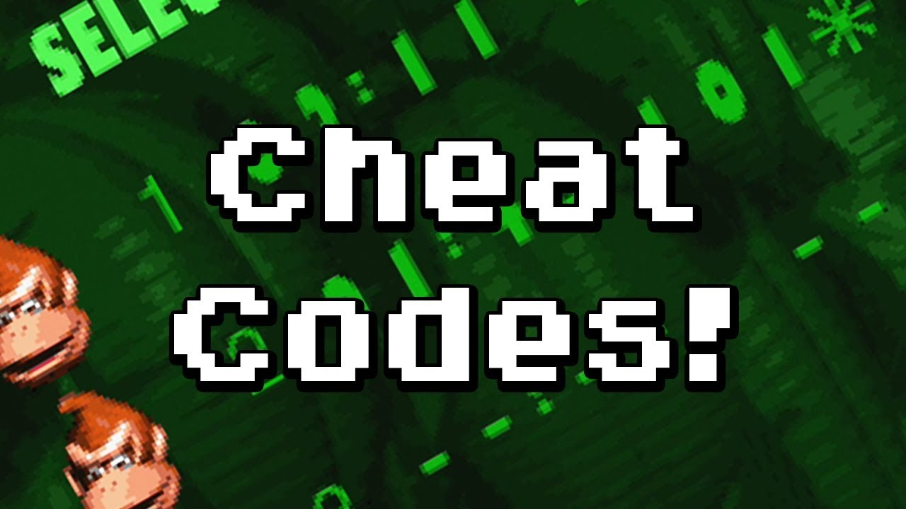 Donkey Kong Country All Cheat Codes Youtube
