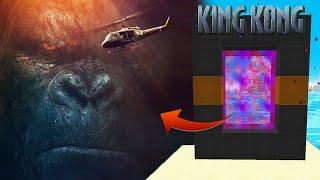 KING KONG! 🐵PORTAL A LA DIMENSIÓN DE KONG: LA ISLA CALAVERA EN MINECRAFT | DIMENSIONES #41