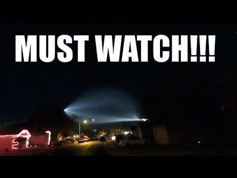 SPACE X LAUNCH FROM ARIZONA   UFO LIGHTS  