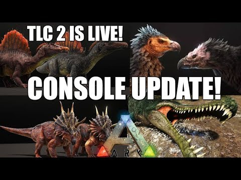 ARK TLC PHASE 2 UPDATE IS HERE! - 40GB=XBOX ONE! - PS4 UPDATE!