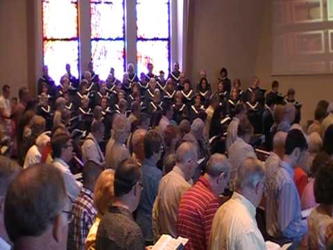 "Grace Presbyterian Church Hymn ""Holy,Holy,Holy""- With A BEAUTIFUL SOPRANO DESCANT"