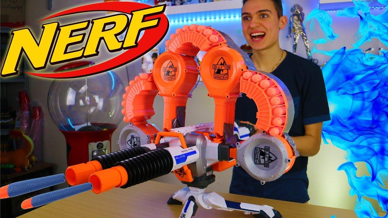 nerf hail-fire   nerfgunattachments.com   Pinterest   Nerf, Nerf ...