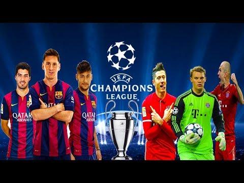 Finala Uefa Champions League F.C. Barcelona vs F.C. Bayern München