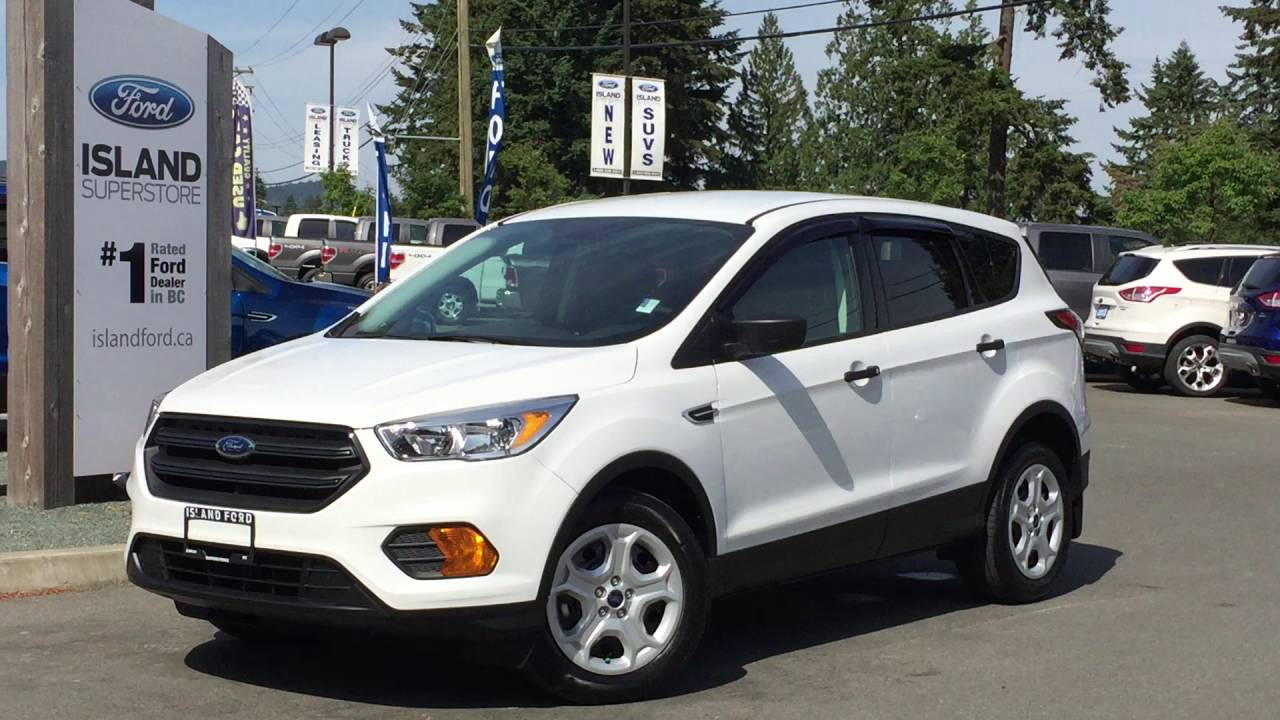 2017 Ford Escape S Review Island