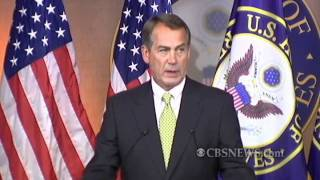 boehner says no deal on continuing resolution