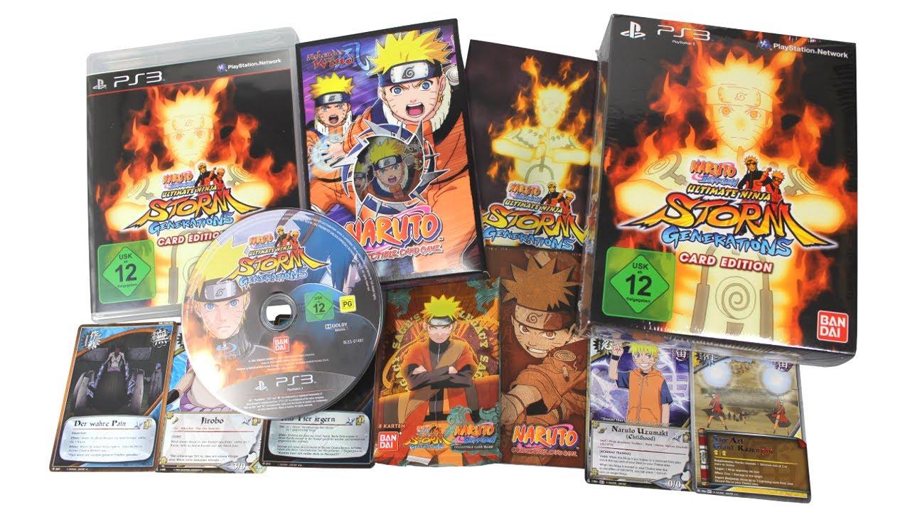 Naruto Shippuden Karten.Uffruppe 48 Unboxing Naruto Ultimate Ninja Storm Generations Card Edition