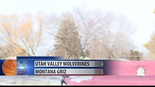 Griz pick up both games of the double header against Utah Valley