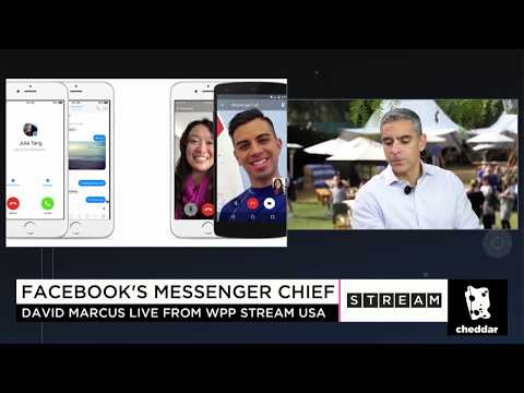 How Facebook Head of Mobile David Marcus Wants to Monetize Messenger