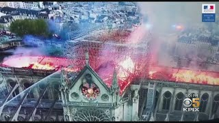 Devastating Fire At Notre Dame Cathedral In Paris Leads To Outpouring Of Sympathy