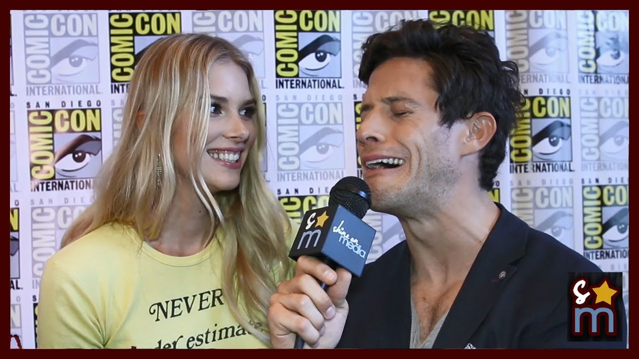 Emma Ishta And Kyle Harris Kiss